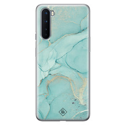 Casimoda OnePlus Nord siliconen hoesje - Touch of mint