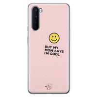 Telefoonhoesje Store OnePlus Nord siliconen hoesje - I'm cool