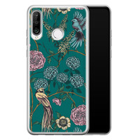 Telefoonhoesje Store Huawei P30 Lite siliconen hoesje - Bloomy birds