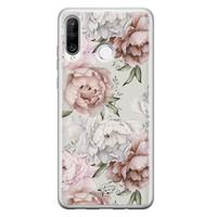 Telefoonhoesje Store Huawei P30 Lite siliconen hoesje - Classy flowers