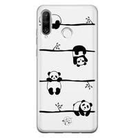 Telefoonhoesje Store Huawei P30 Lite siliconen hoesje - Panda