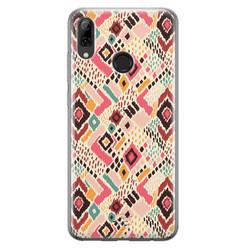 Telefoonhoesje Store Huawei P Smart 2019 siliconen hoesje - Boho vibes