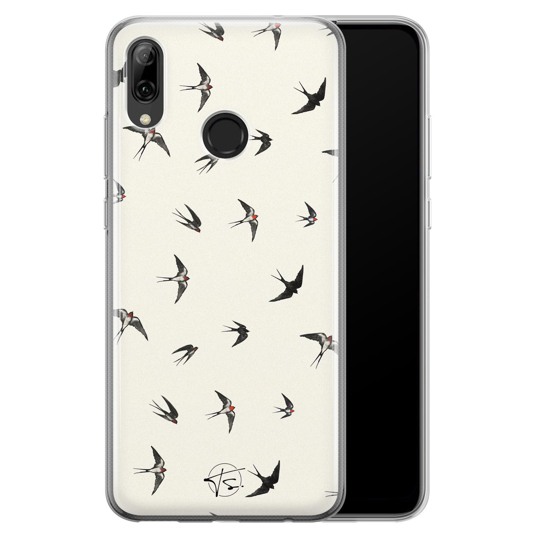 Telefoonhoesje Store Huawei P Smart 2019 siliconen hoesje - Freedom birds