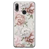 Telefoonhoesje Store Huawei P Smart 2019 siliconen hoesje - Classy flowers