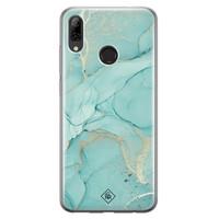 Casimoda Huawei P Smart 2019 siliconen hoesje - Touch of mint