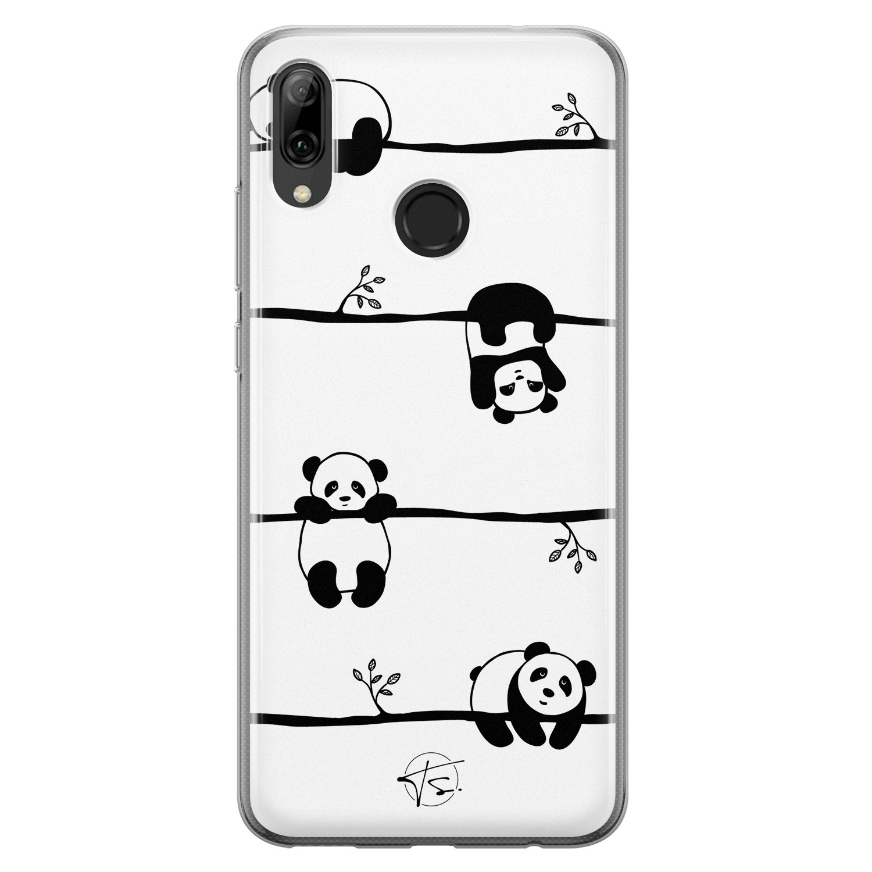Telefoonhoesje Store Huawei P Smart 2019 siliconen hoesje - Panda
