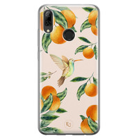 ELLECHIQ Huawei P Smart 2019 siliconen hoesje - Tropical Lemonade