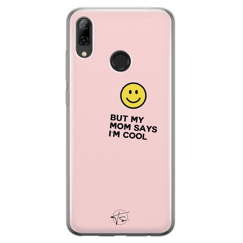 Telefoonhoesje Store Huawei P Smart 2019 siliconen hoesje - I'm cool