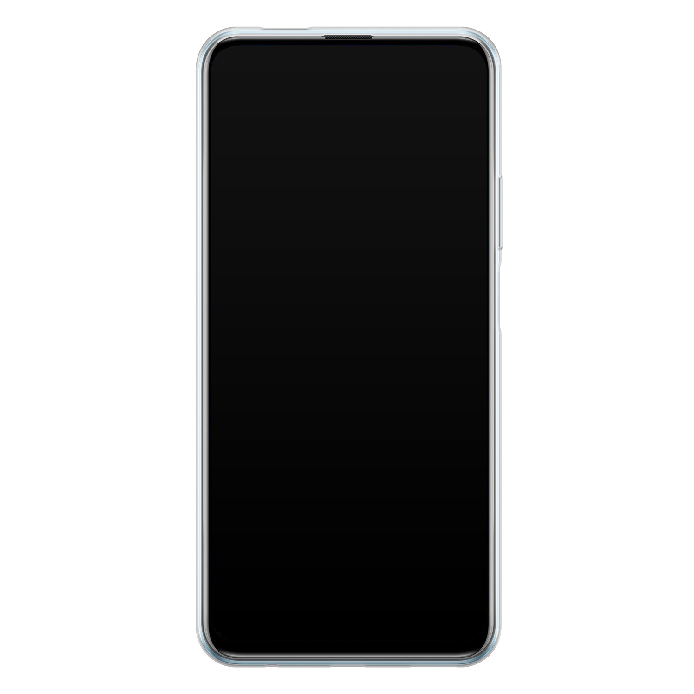 Telefoonhoesje Store Huawei P Smart Pro siliconen hoesje - Zwarte kat