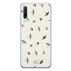 Telefoonhoesje Store Huawei P Smart Pro siliconen hoesje - Freedom birds