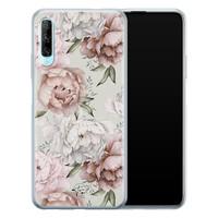 Telefoonhoesje Store Huawei P Smart Pro siliconen hoesje - Classy flowers