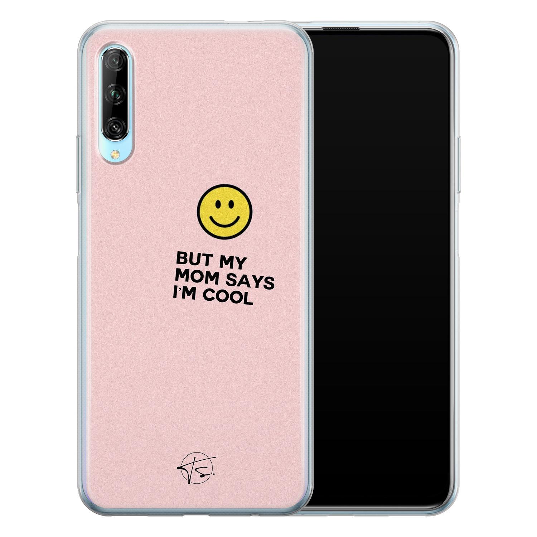 Telefoonhoesje Store Huawei P Smart Pro siliconen hoesje - I'm cool