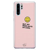 Telefoonhoesje Store Huawei P30 Pro siliconen hoesje - I'm cool