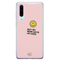 Telefoonhoesje Store Huawei P30 siliconen hoesje - I'm cool