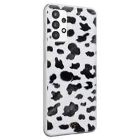 Telefoonhoesje Store Samsung Galaxy A32 4G siliconen hoesje - Koeienprint