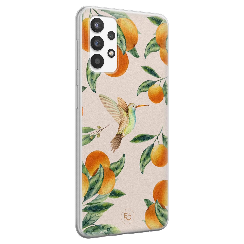 ELLECHIQ Samsung Galaxy A32 4G siliconen hoesje - Tropical Lemonade