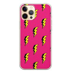 Telefoonhoesje Store iPhone 12 siliconen hoesje - Bliksem