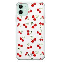 Telefoonhoesje Store iPhone 11 siliconen hoesje - Kersjes