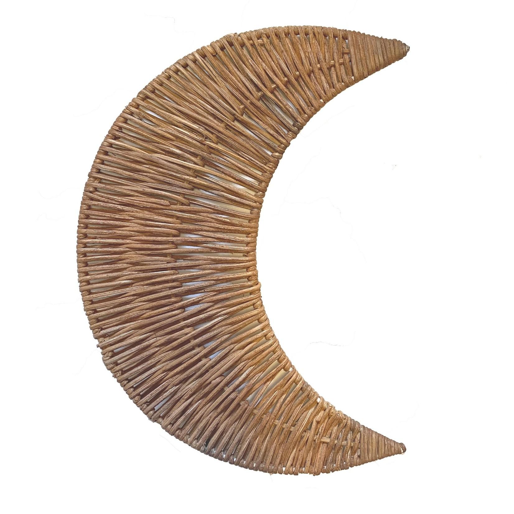 Kidooz B.V. Rotan maan hanger klein, 12 cm