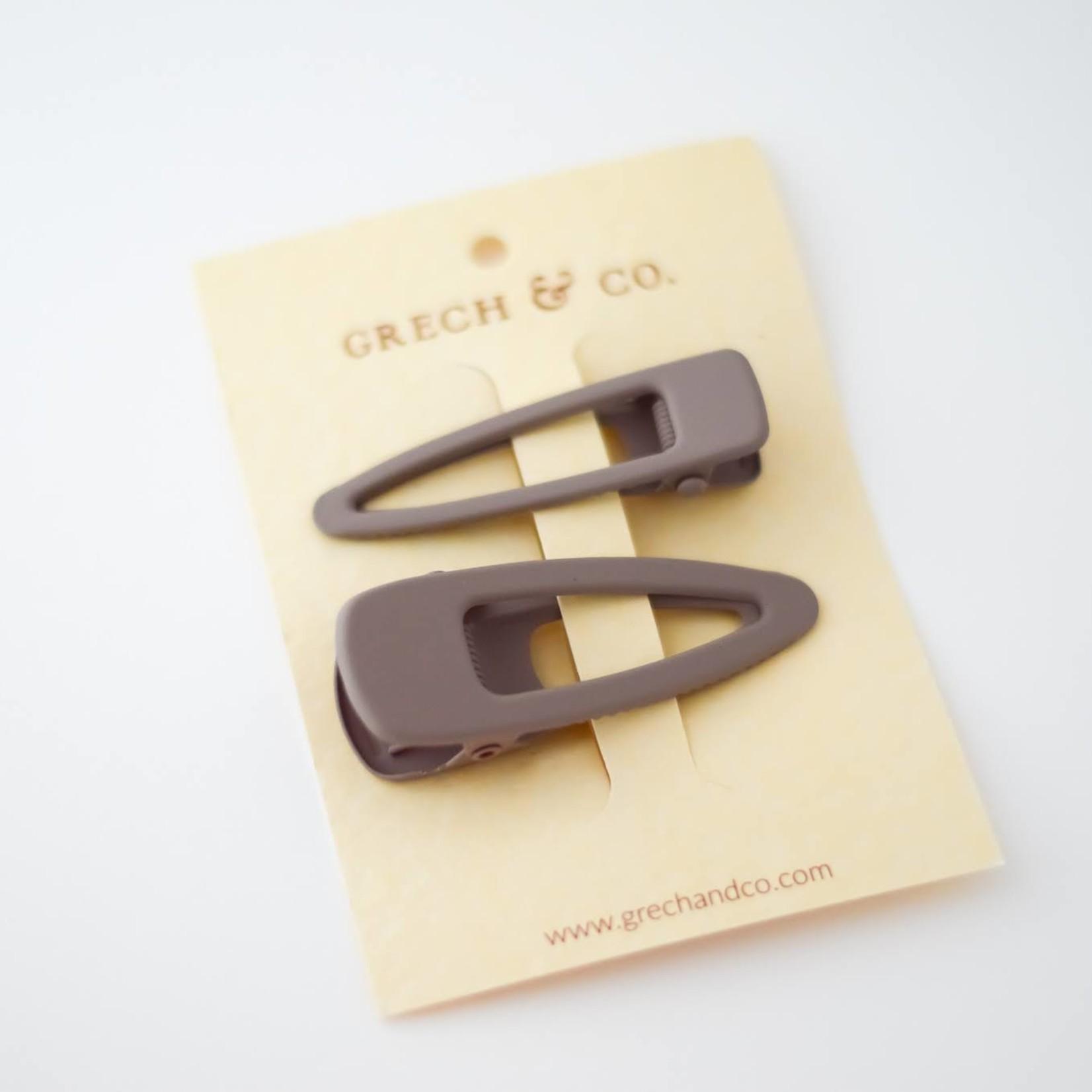 Grech & Co Grech & Co | Matte Clips - Set van 2