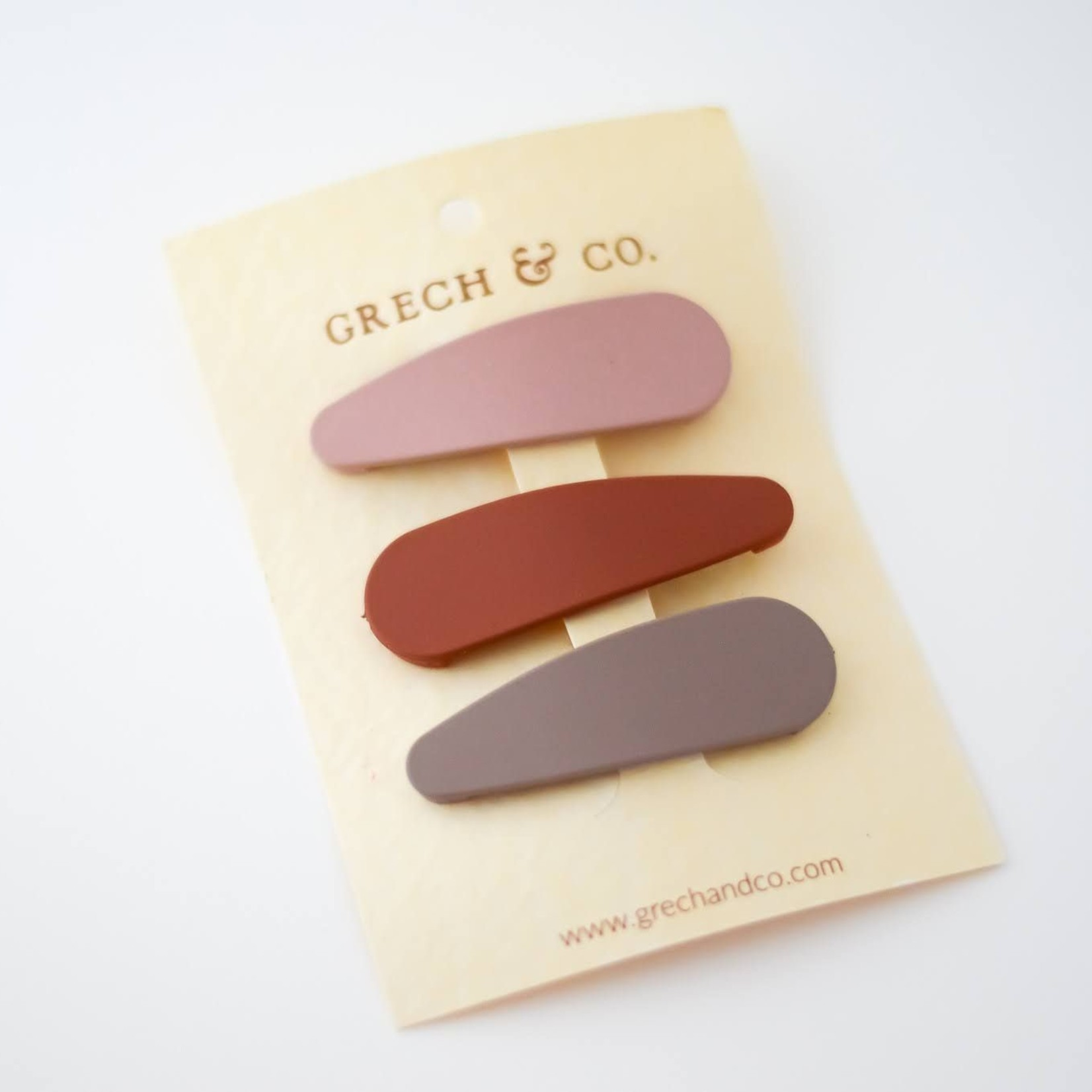 Grech & Co Grech & Co | Matte Clips - Set van 3