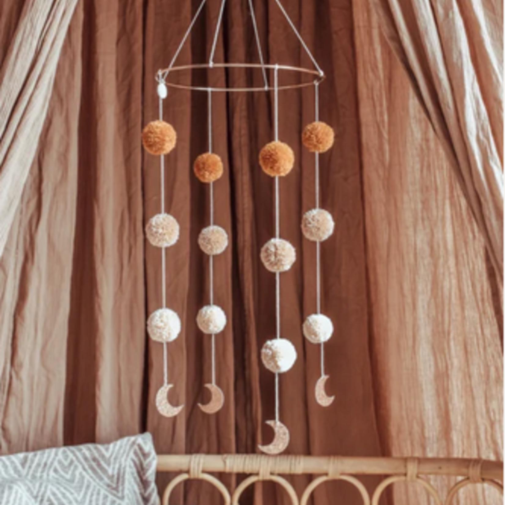 Cotton Design Cotton Design | Pompom Mobile  Moonshine