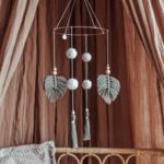 Cotton Design Boho Mobile Sage