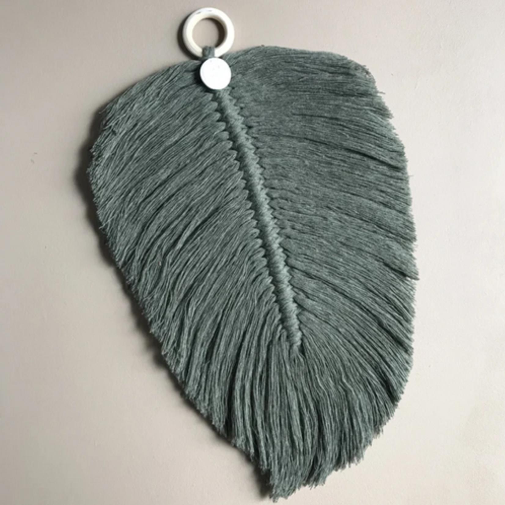 Cotton Design Cotton Design   Feather Forest Green