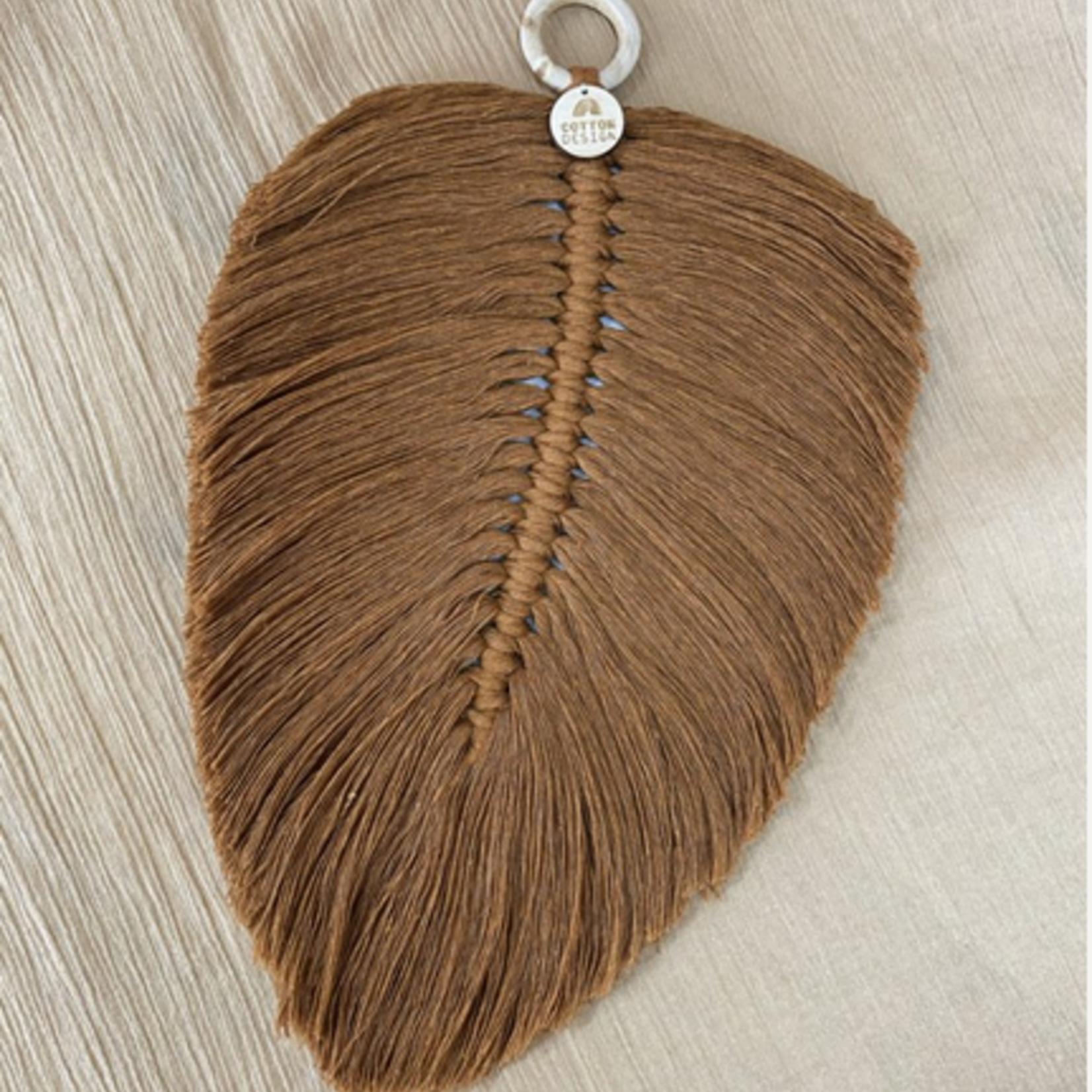 Cotton Design Cotton Design   Feather Brown