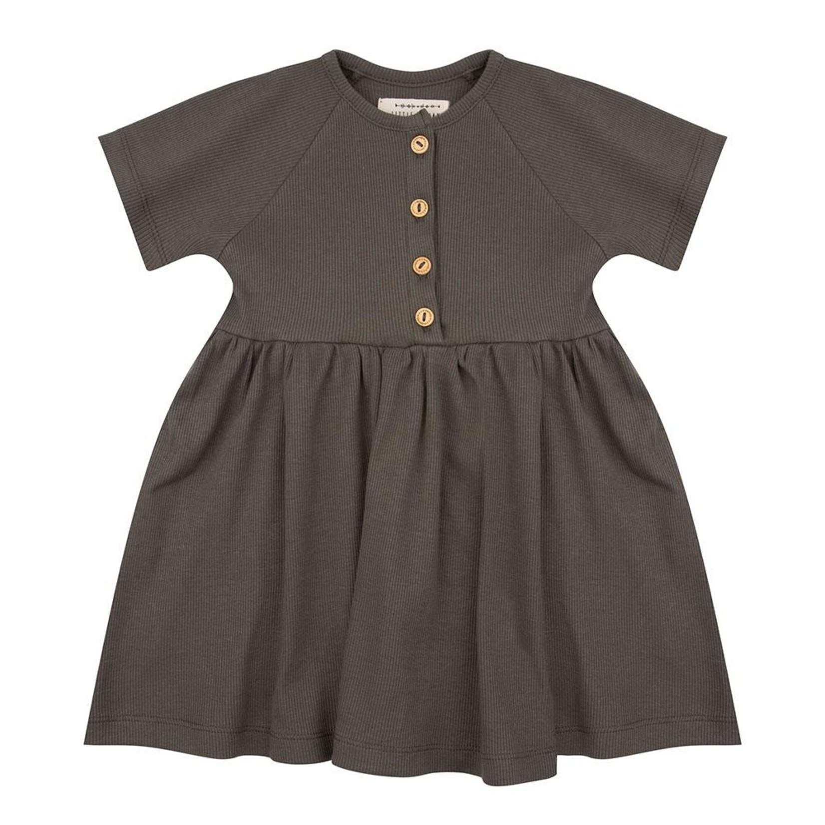 Little Indians Little Indians   Dress - Dusty Olive