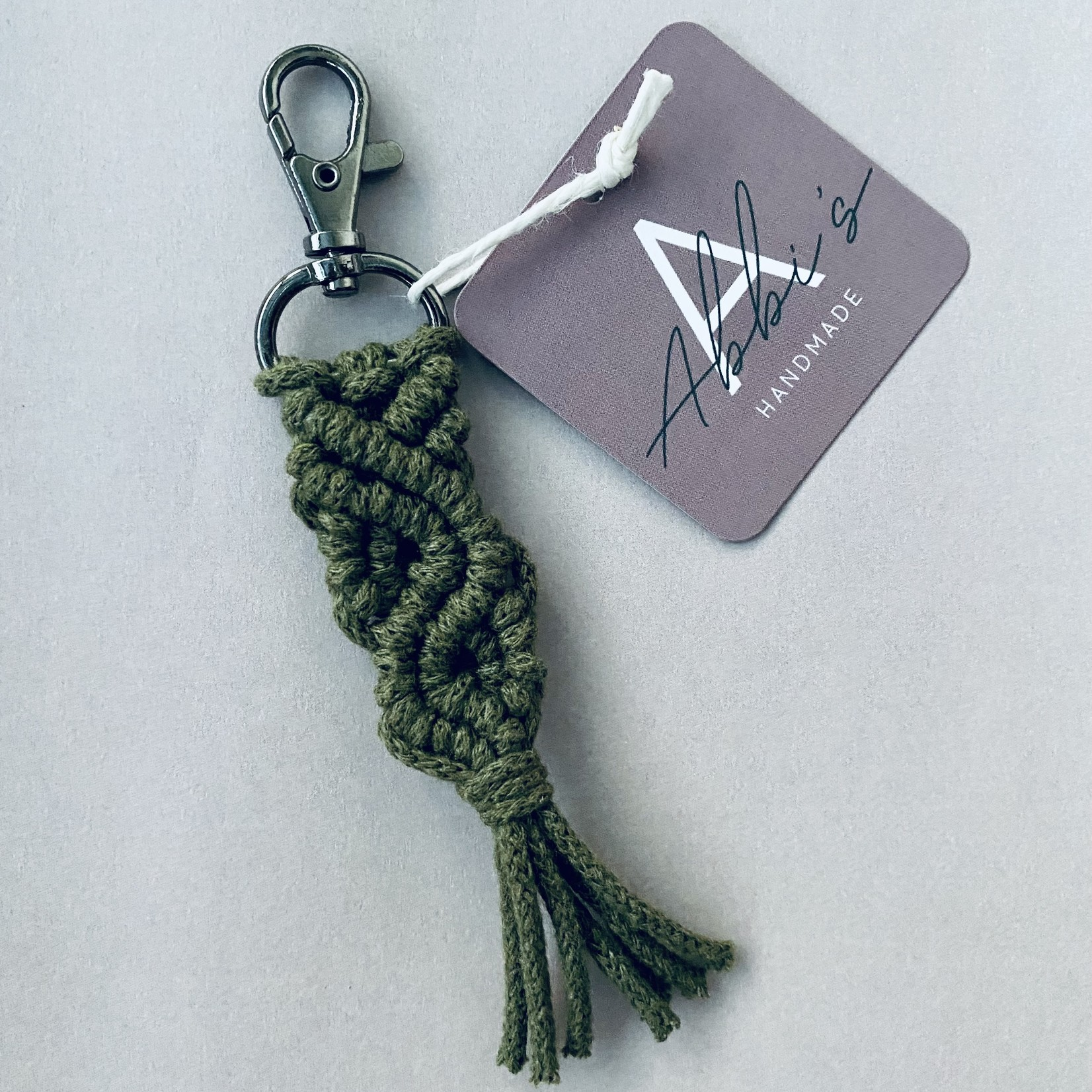 Abbi's Handmade Abbi's Handmade | Keychain Jules - Avocado