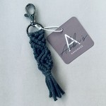 Abbi's Handmade Keychain Jules - Charcoal