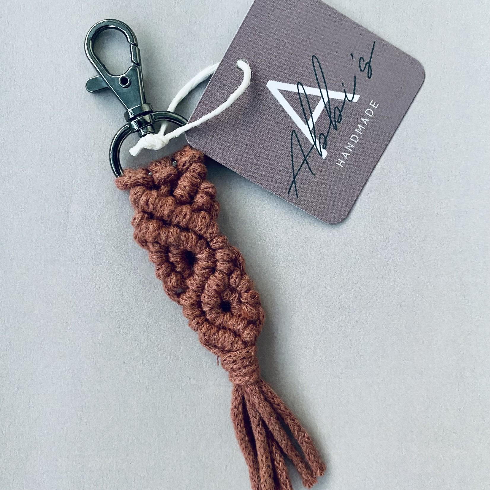 Abbi's Handmade Abbi's Handmade   Keychain Jules - Sunset