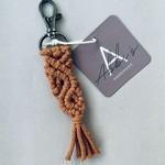 Abbi's Handmade Keychain Jules - Terracotta