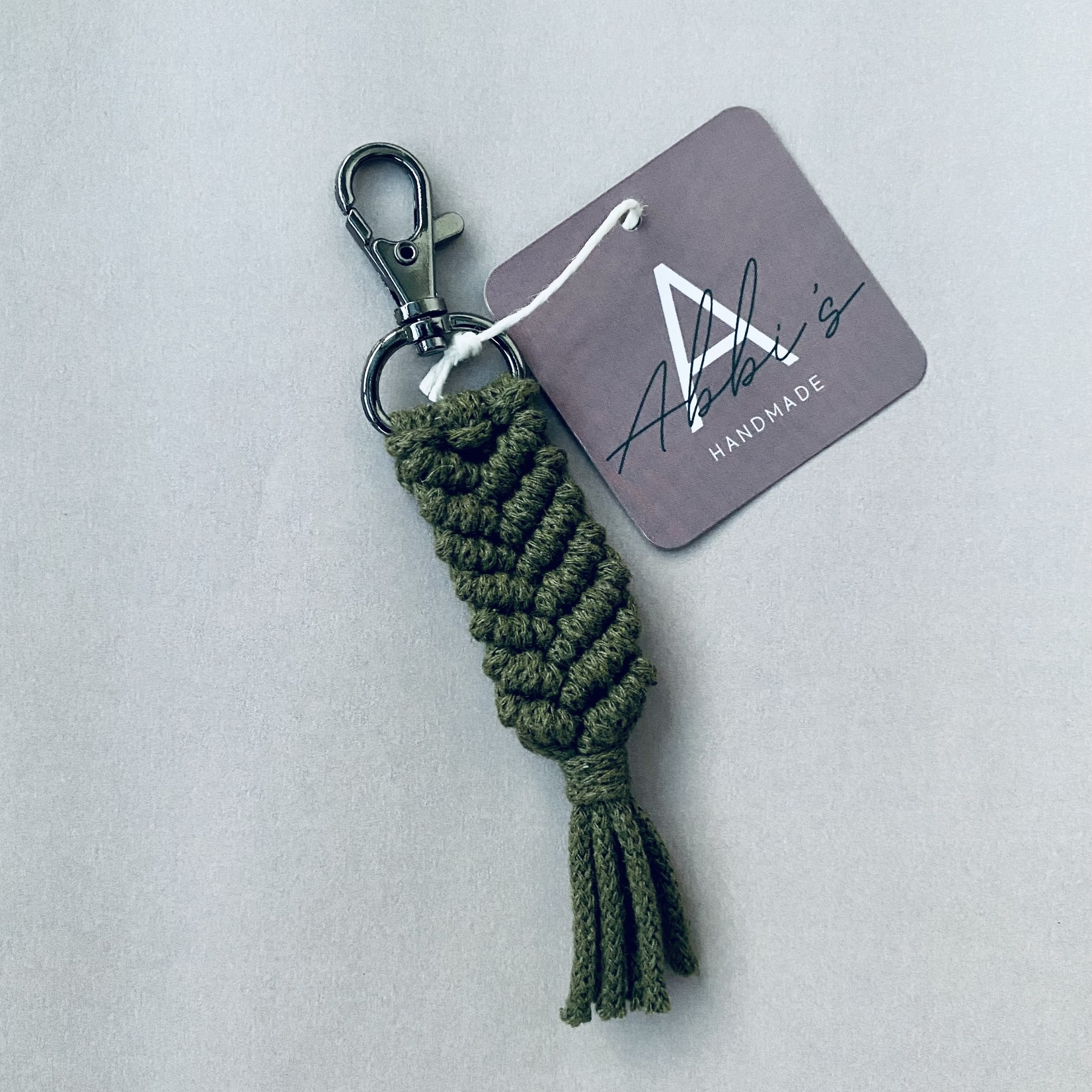 Abbi's Handmade Abbi's Handmade   Keychain Liam - Avocado