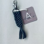 Abbi's Handmade Keychain Liam - Charcoal