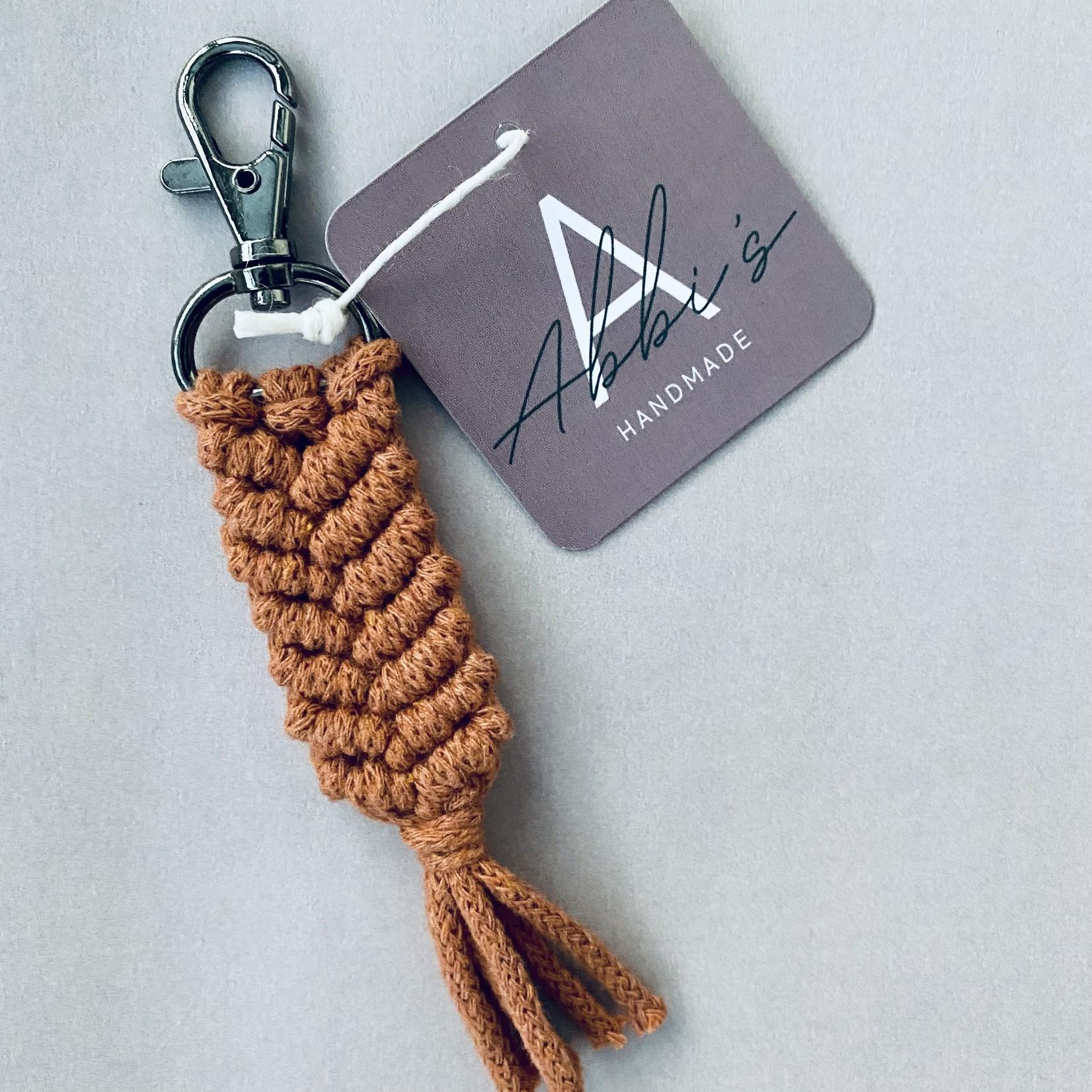 Abbi's Handmade Abbi's Handmade | Keychain Liam - Terracotta
