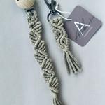 Abbi's Handmade Macramé Giftset - Sand