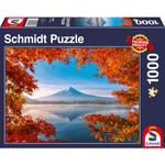Schmidt Herfst bij Mount Fuji, 1000 stukjes