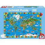 Schmidt Geweldige Wereld, 200 stukjes