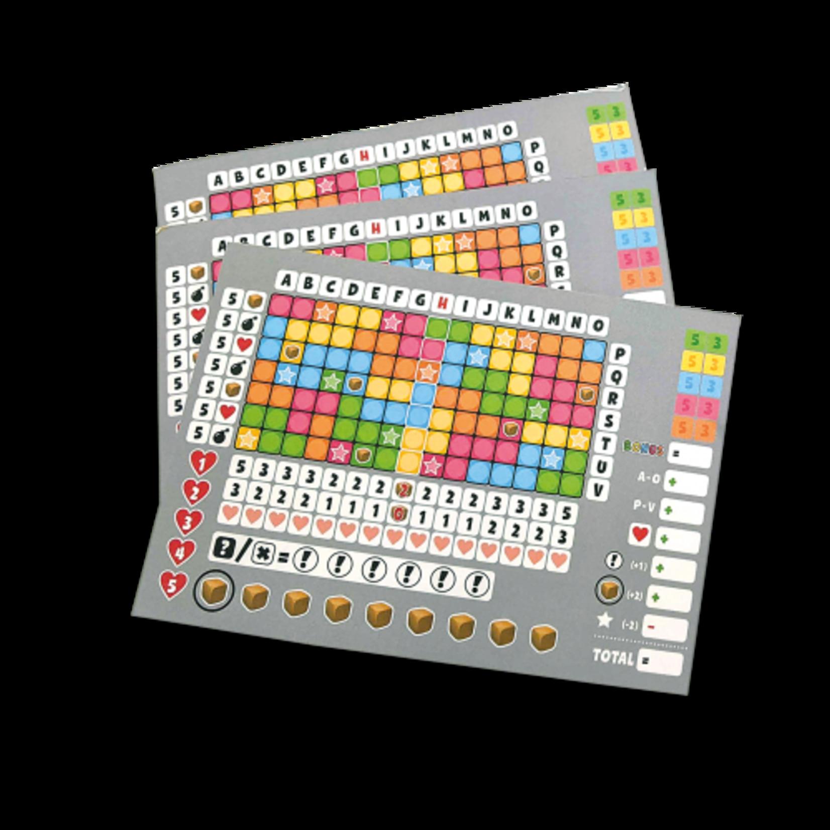999 Games Scoreblokken Keer op Keer 2 drie stuks Level 1