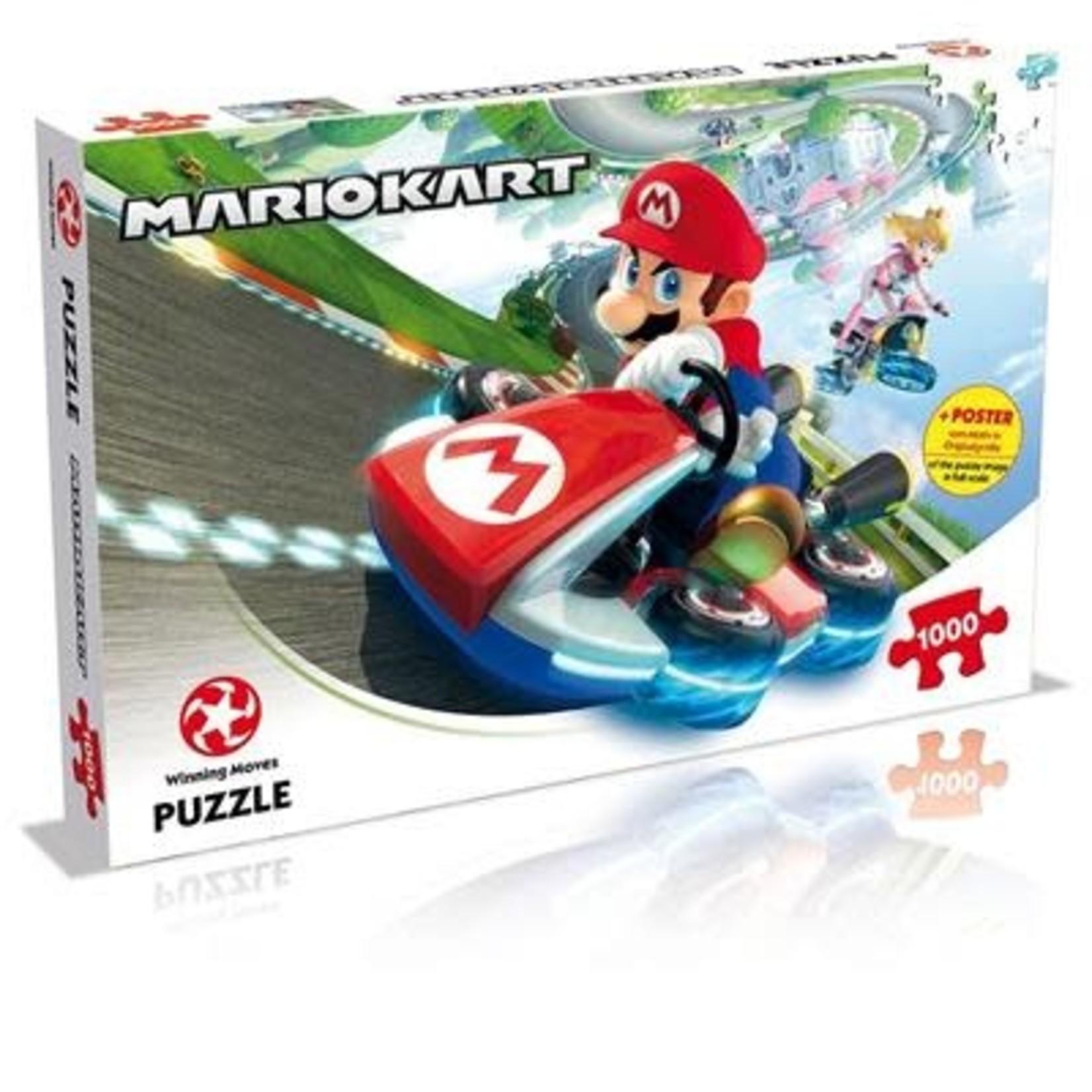 Winning Moves Puzzle Mario Kart - 1000st