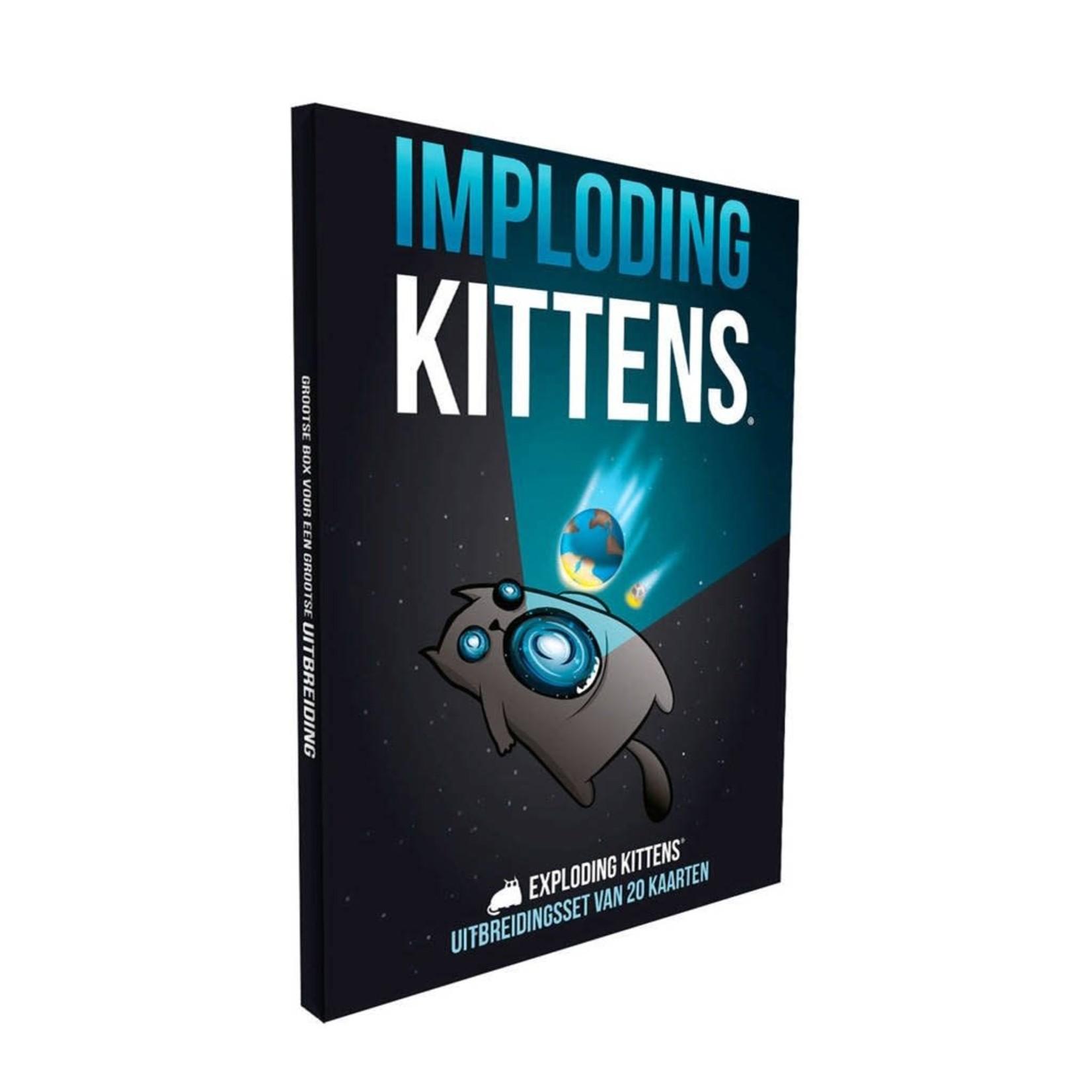 Exploding Kittens Exploding Kittens Uitbreiding Imploding Kittens