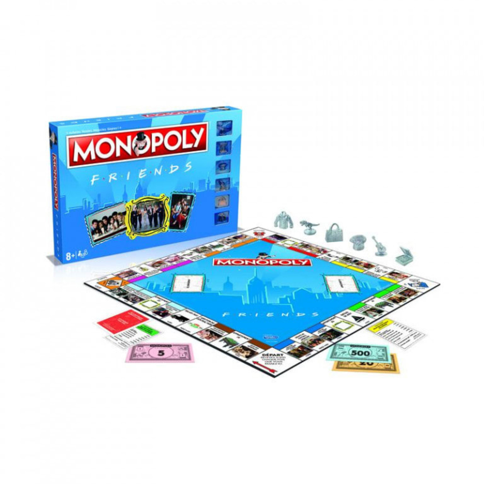 Winning Moves Monopoly Friends