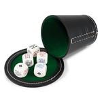 France-Cartes Poker Chapeau - 5 dobbelstenen