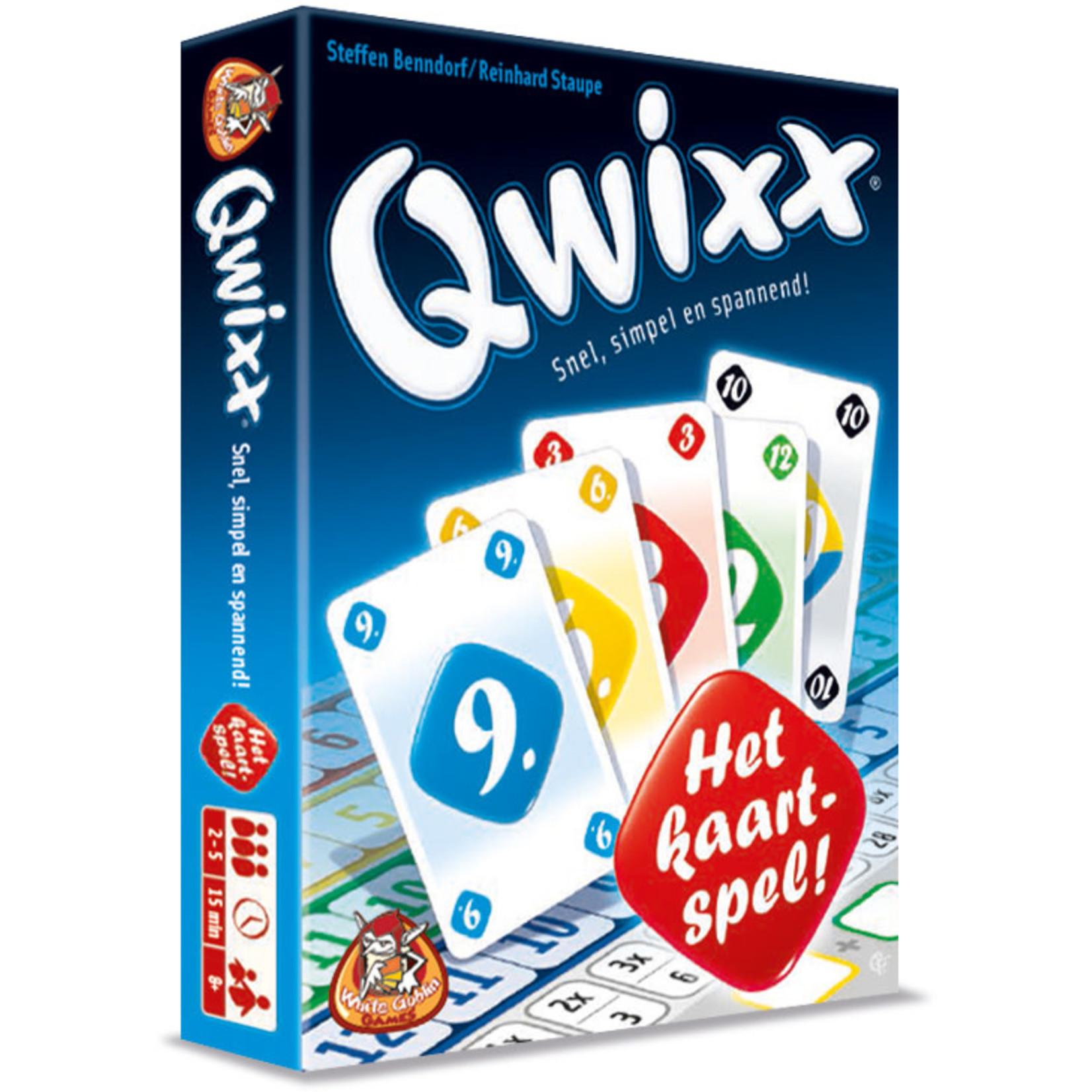 White Goblin Qwixx - Het Kaartspel