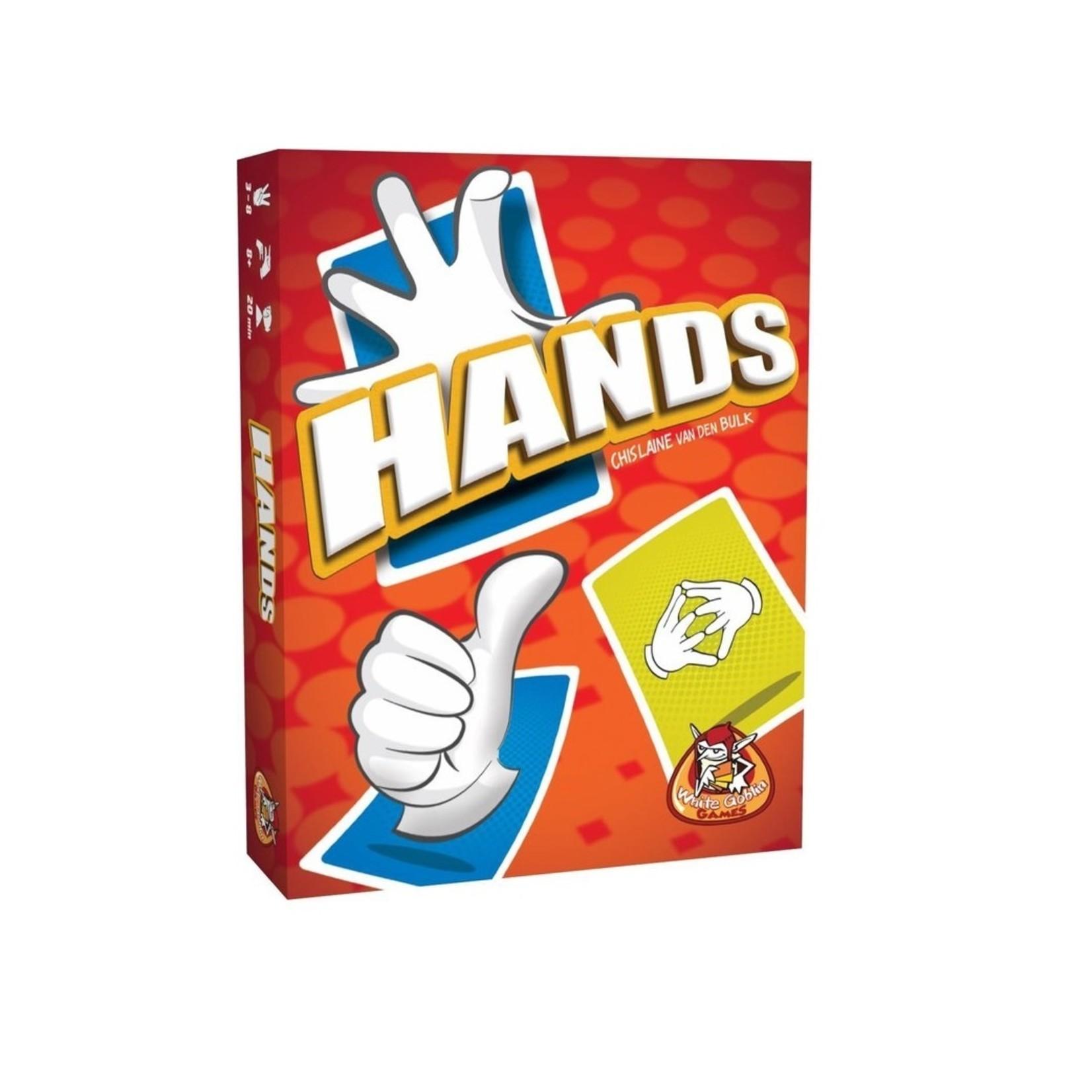 White Goblin Hands