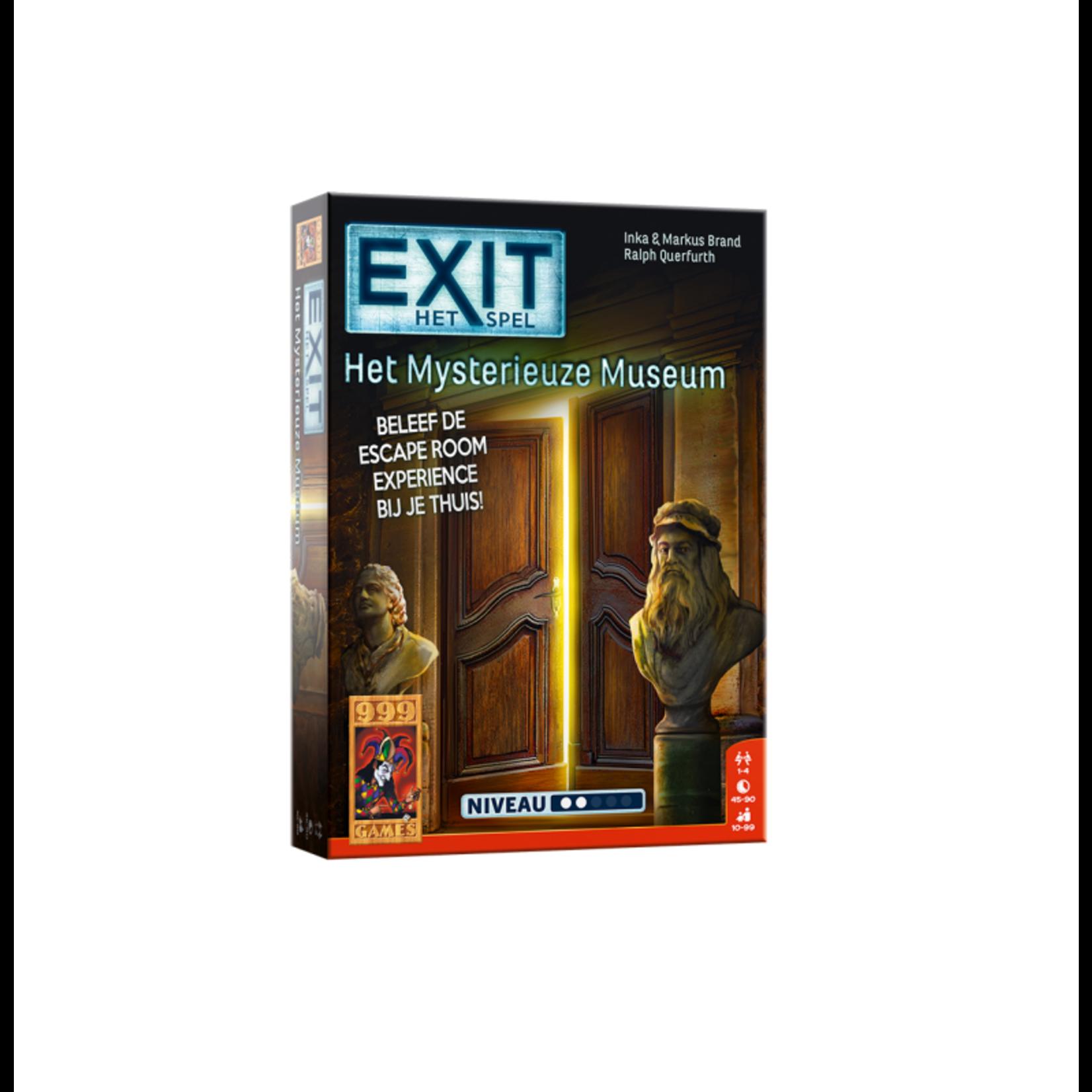 999 Games EXIT - Het Mysterieuze Museum