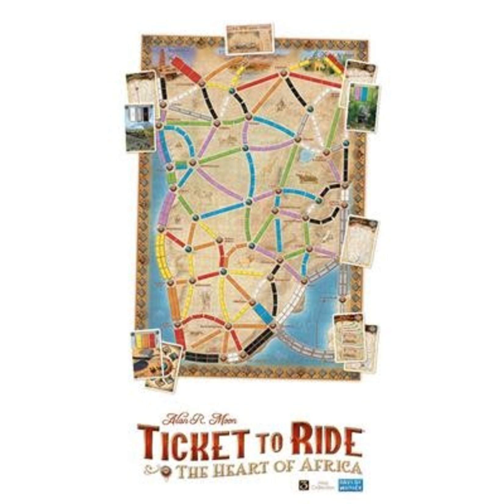 Days of Wonder Ticket to Ride The Haert of Africa