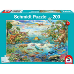999 Games Ontdek de Dinosaurussen, 200 stukjes